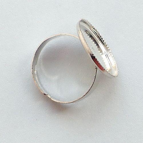 bižuterní komponent prstýnek