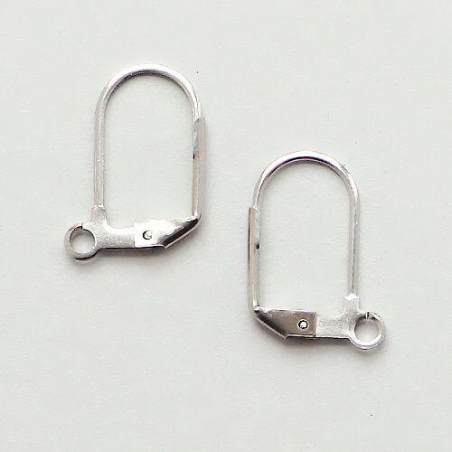 ocelové komponenty náušnice