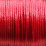 červená saténová šňůrka 0,5 m