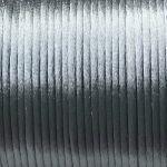 šedé šňůrky satén 0,5 m