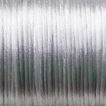 šňůrky saténové šedé 0,5 m