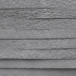 šedý kožený řemínek 90 cm