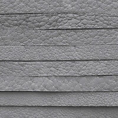 šedý kožený řemínek