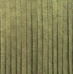 zelený kožený řemínek na krk