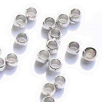 zamačkávací rokajl stříbro mini