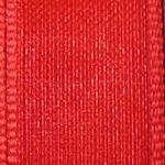 červená stužka šifon 0,5 m
