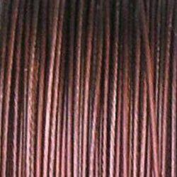 bižuterní lanko hnědé