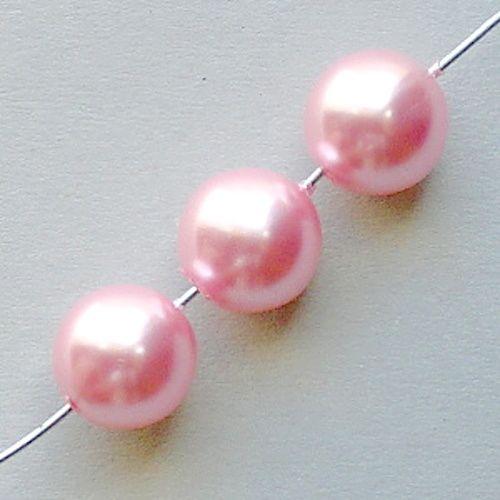 korálky voskovky růžové
