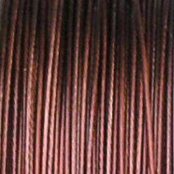 nylonové lanko hnědé