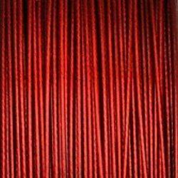 červené ocelové lanko