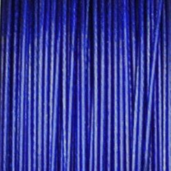 modré lanko na bižuterii