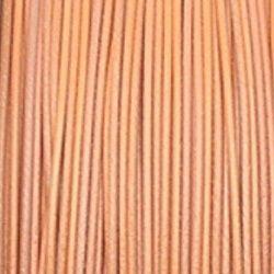 oranžové ocelové lanko na krk