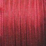 červená stužka z šifonu 0,5 m