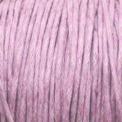 fialová šňůrka voskovaná