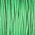 zelené bavlněné šňůrky