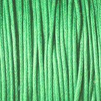 zelená bavlněná šňůrka na krk