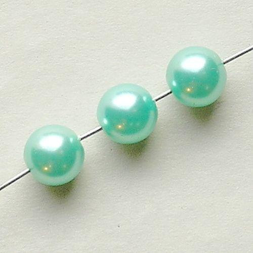 zelené voskové perle