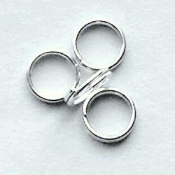 dvojitý kroužek chirurgická ocel
