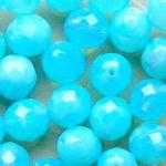ohňovky modré opál 5 mm 25 ks bal