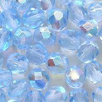 ohňovky světle modré safír s pokovem