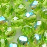 ohňovky světle zelené AB 4 mm
