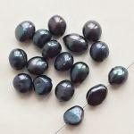 sladkovodní perly černé