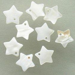 perleť přívěsek hvězdička
