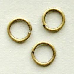 spojovací kroužky starozlato
