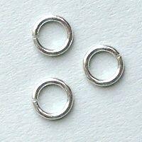 spojovací kroužky stříbro