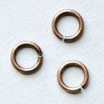 spojovací kroužky 5 mm staroměď