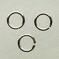 spojovací kroužky gun metal