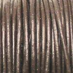 hnědé řemínky z kůže 20 cm