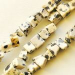 jaspis dalmatin zlomky na navlékání
