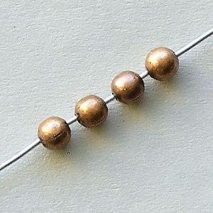 kovové korálky kuličky