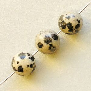 jaspis dalmatin korálky kuličky