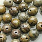 peruánský opál korálky