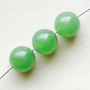 zelený aventurin korálky kuličky