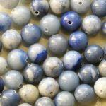 modrý aventurin korálky kuličky