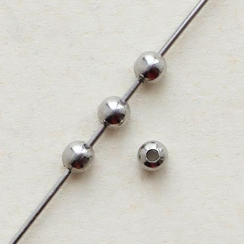 ocelové korálky kuličky