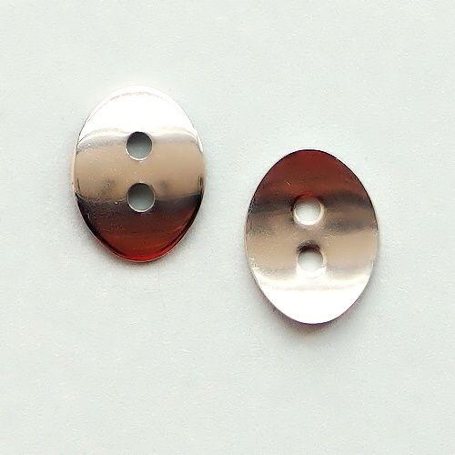 ocelové zapínání knoflík