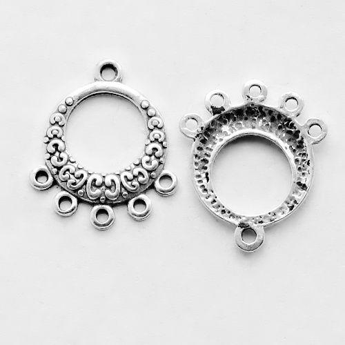 přívěsek kruh s ornamenty