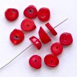 červený korál 13 mm