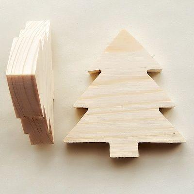 vánoční dřevěný polotovar na decoupage