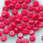 červený mramor rondelka