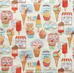 ubrousky zmrzlina