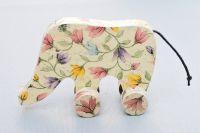 decoupage polotovar dřevěný slon