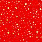 decoupage ubrousek vánoční hvězdičky