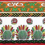 decoupage ubrousek ornamenty