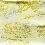 decoupage ubrousek Vivaldi