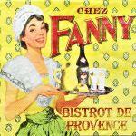 decoupage ubrousek francouzská restaurace